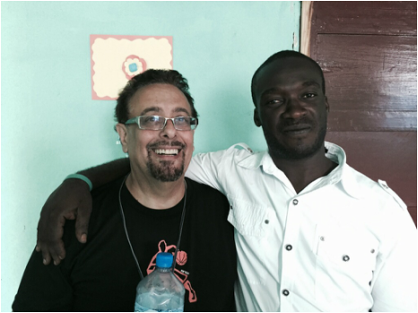 Pastor Tony with Dorcilien Mercidieu